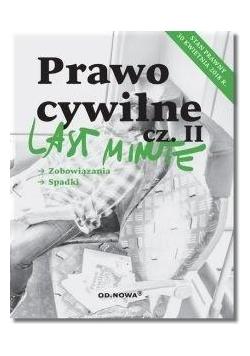 Last Minute Prawo Cywilne cz.2 wyd.2018