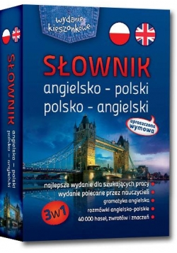 Słownik ang-pol-ang kieszonkowy broszura GREG