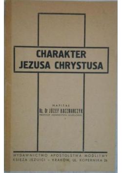 Charakter Jezusa Chrystusa, 1935 r.