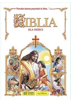 Biblia dla dzieci - biała