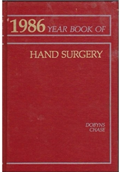 1986 year book of hand surgery