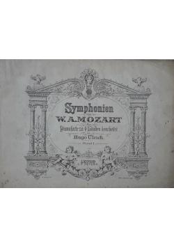 Symphonien von W.A. Mozart. Pianoforte zu 4 handen bearbeitet, Band 1