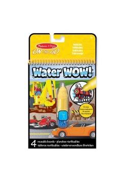 Wielorazowa Wodna Kolorowanka Pojazdy