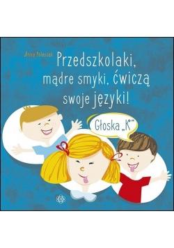 Przedszkolaki, mądre smyki, ćwiczą swoje języki...