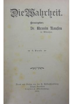 Die Wahrheit, 8. Band, 1902r.
