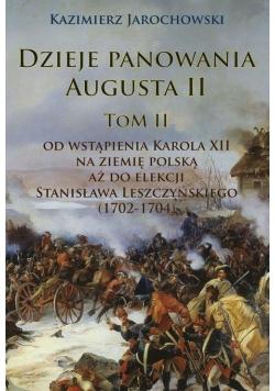 Dzieje panowania Augusta II. Tom II