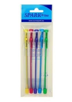 Długopis Chiara 0,7mm 5 kolorów SPARK LINE