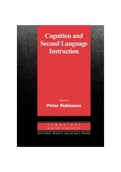Cognition and Second Language Instruction