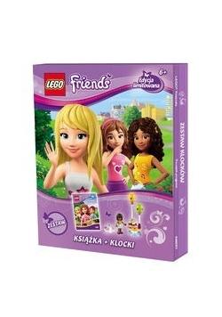 Lego Friends Początek przyjaźni Zestaw książka + klocki, Nowa