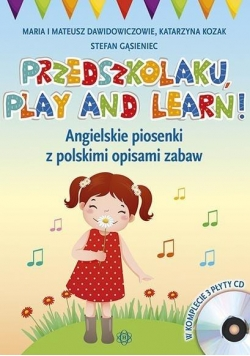 Przedszkolaku, play and learn! 3 CD (kpl)
