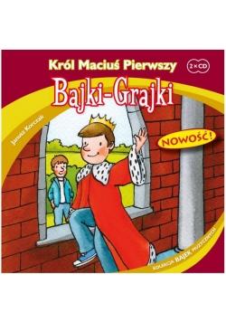 Bajki - Grajki. Król Maciuś Pierwszy 2CD