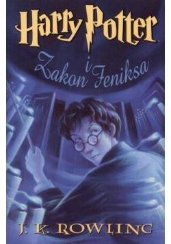 Harry Potter 5 Zakon Feniksa - J.K. Rowling tw.