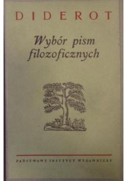 Wybór pism filozoficznych