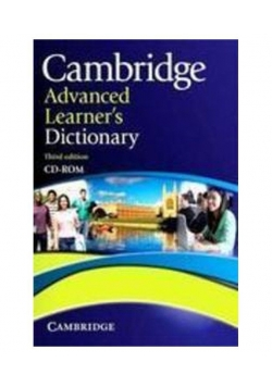 Advanced learner's dictionary