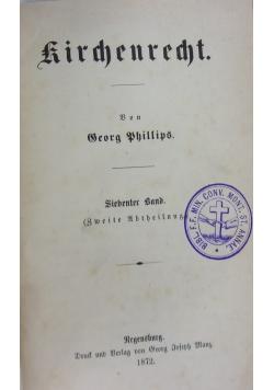 Kirchenrecht, 1872 r.