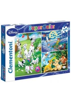 Puzzle 3x48 Disney Classic 2