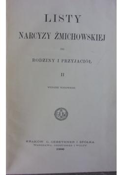 Listy Narcyzy Żmichowskiej do rodziny i przyjaciół , 1906 r.