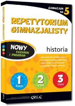 Repetytorium Gimnazjalisty historia GREG