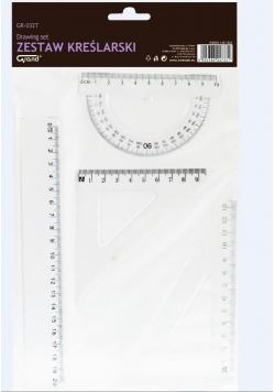 Zestaw geometryczny transparent GR-032T GRAND