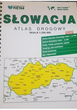 Słowacja atlas drogowy