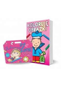 Pakiet: Kolorowanka Zosi.. / Koloruję obrazki