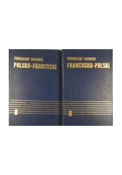 Podręczny słownik francusko - polski. Tom I - II