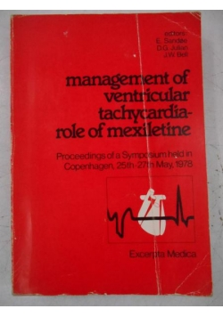 Management of Ventricular Tachycardia Role of Mexiletine