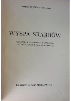 Wyspa skarbów, 1947 r.