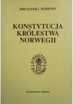 Konstytucja Królestwa Norwegii