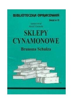 Biblioteczka opracowań nr 013 Sklepy cynamonowe
