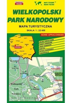 Wielkopolski PN 1:22 400 mapa turystyczna PIĘTKA