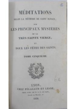 Meditations Pratiques, 1880 r.