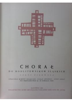 Chorał do modlitewników śląskich, część pierwsza