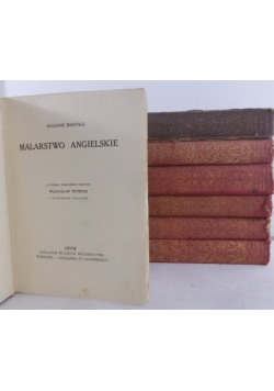 Historya Malarstwa, Zestaw zawiera 7 tomów, 1913 r.