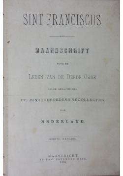 Sint-franciskus, 1886r.