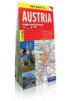 See you! in... Austria. Mapa samochodowa 1:475 000