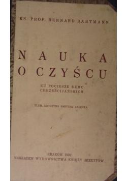 Nauka o czyścu, 1932r.