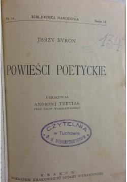 Powieści poetyckie, 1924 r.