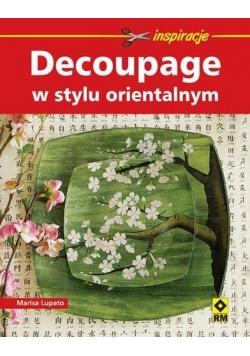 Decoupage w stylu orientalnym RM