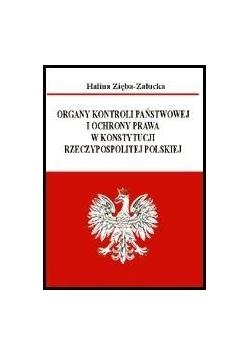 Organy kontroli państwowej i ochrony prawa...