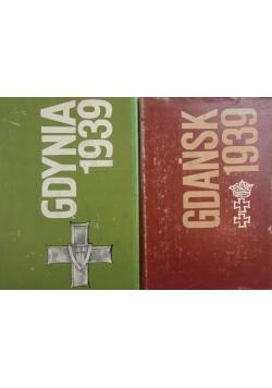 Gdańsk/ Gdynia 1939, zestaw 2 książek