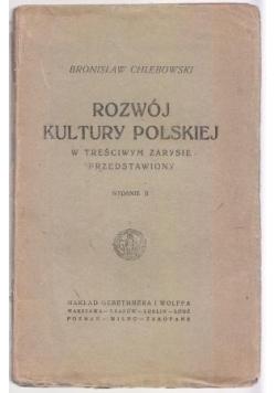Rozwój kultury Polskiej,ok. 1922r.