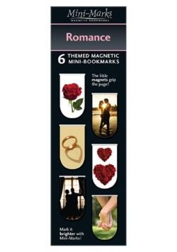 Zakładki magnetyczne Romance 6 sztuk