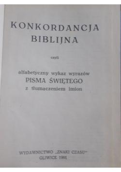 Konkordanacja biblijna