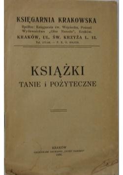 Książki tanie i pożyteczne, 1936r.