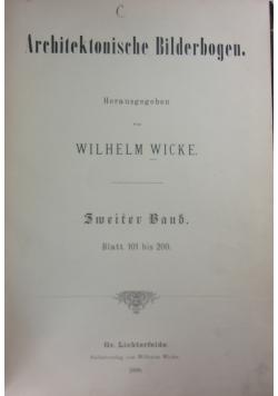 Architektonische Bilderbogen, 1888 r.