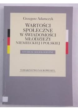 Wartości społeczne w świadomości młodzieży niemieckiej i polskiej