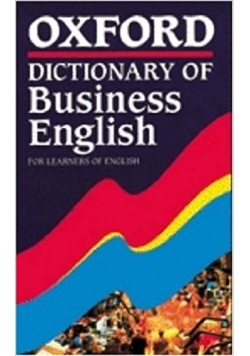 Oxford Dictionary of BusinessEnglish