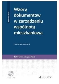 Wzory dokumentów w zarządzaniu wspólnotą... + CD