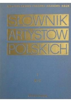 Słownik artystów polskich